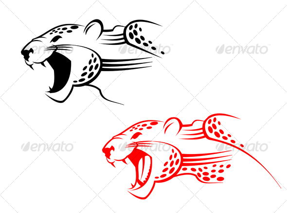 Wildcat tattoo - Tattoos Vectors
