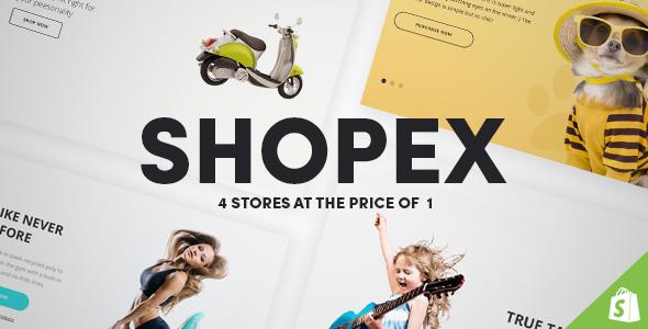 Shopex - Responsive Shopify Theme