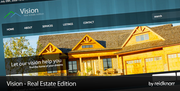 Vision - Real Estate Edition - Vision - Real Estate Edition... The next generation of Real Estate Websites.