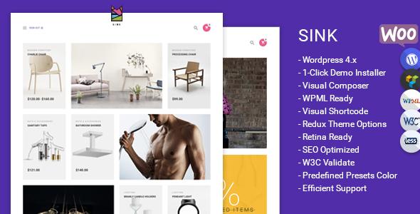 Sink - Minimal WooCommerce WordPress Theme