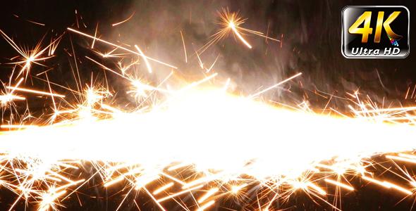 Sparks Flame Light ilotulitus 5 - Industrial Arkistofilmit
