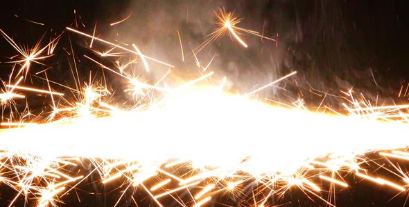 Sparks Flame Light ilotulitus 5 - Special Events Arkistofilmit