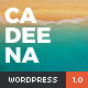 Cadeena - Simple and Clean WordPress Blogging Theme