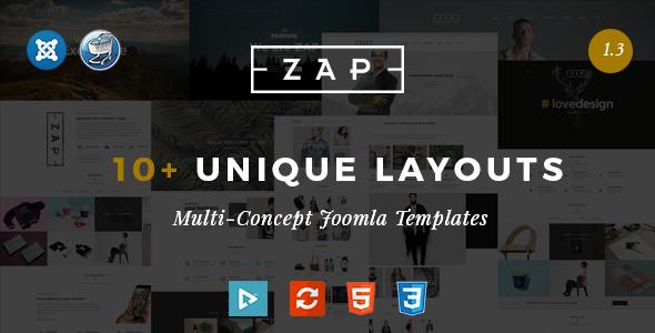 Zap - Multipurpose Responsive Virtuemart Joomla templates