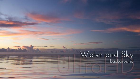 Vesi ja Sky - Water Taustat Motion Graphics