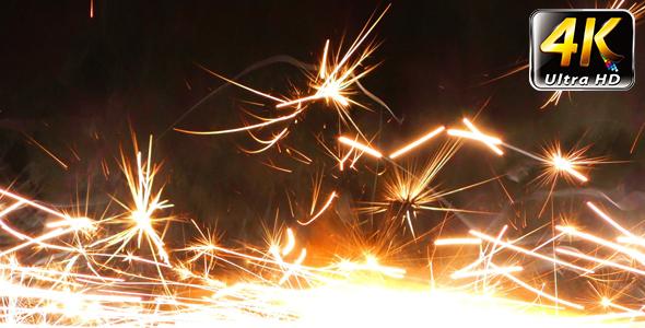 Sparks Flame Light Fireworks 11 - Special Events Arkistofilmit