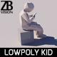 Lowpoly Kid 005