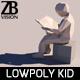 Lowpoly Kid 006