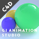 Global Illumination Animation Studio - Cinema 4D
