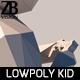 Lowpoly Kid 007
