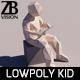 Lowpoly Kid 008