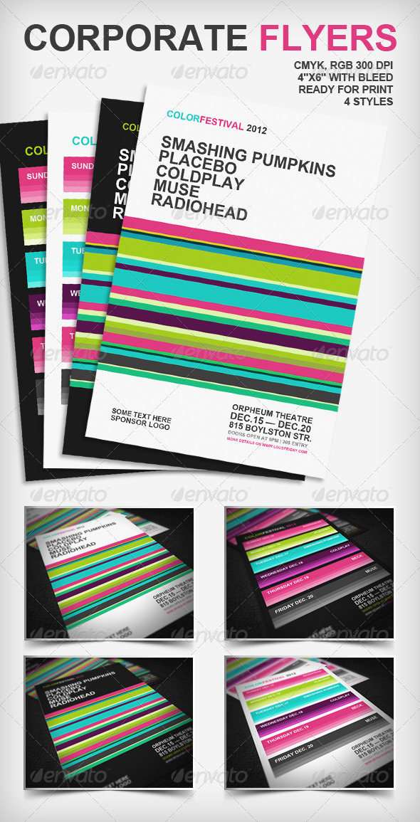 GraphicRiver Corporate Flyers Poster 1113593