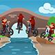Download Vector Kids Doing Bike Tricks