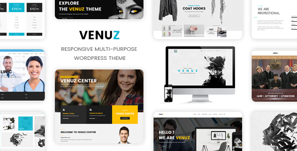 Download Venuz - Responsive WordPress Theme nulled download