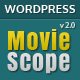 MovieScope - Responsive WordPress Portal Theme