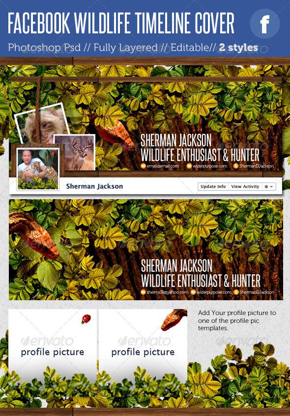 Facebook Timeline Covers - Wildlife - Facebook Timeline Covers Social Media