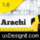 Arachi - Construction, Corporate Business WP Themes