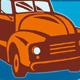 Vintage Farm Pickup Truck Retro Style
