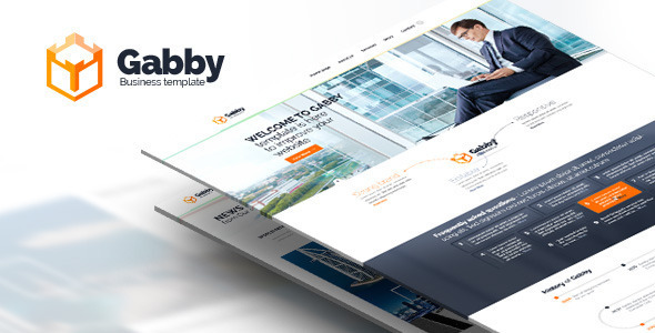Gabby - Unique Multi-Purpose HTML Template