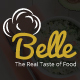 Belle - Food & Restaurant PSD Template