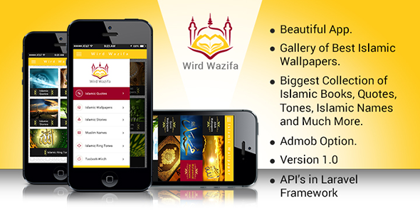 Wird Wazifa Android App With Laravel admin Panel