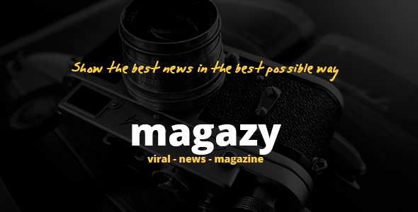 Magazy - Viral, News & Magazine WordPress Theme