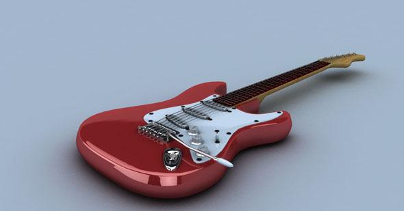 3DOcean Electric Guitar 1616563
