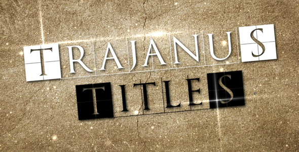 Trajanus Titles Epic trailer