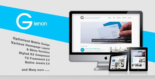 Glenon - Best Responsive Joomla Template