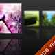 Horizontal Dock Icon Menu with Blur&Reflection - ActiveDen Item for Sale