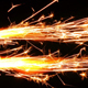 Sparks Flame Light from Fireworks 3