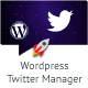Twitter Manager WP Plugin