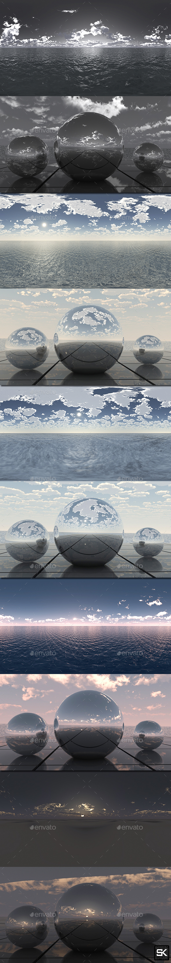 HDRI Pack Sky - 3DOcean Item for Sale