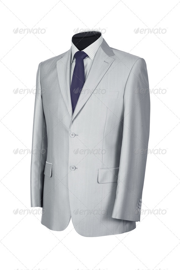 Man's suit isolated - Stock Photo - Images