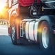 Download Semi Truck on a Highway from PhotoDune