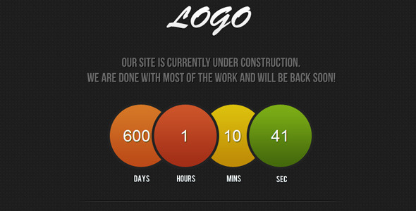ThemeForest Under Contruction 1617870