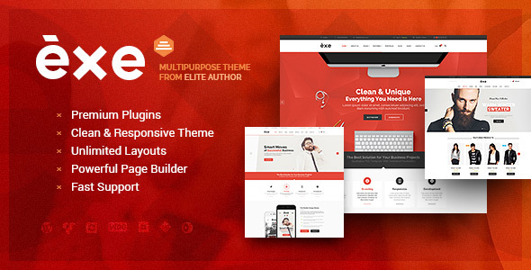 Download EXE - Responsive Multi-Purpose WordPress Theme nulled download
