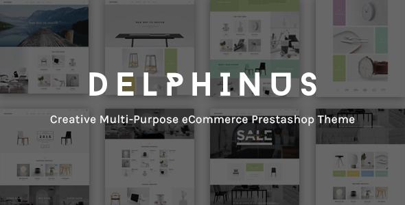 JMS Delphinus - Multipurpose Prestashop theme
