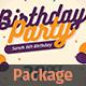Birthday Flyer + Invitation