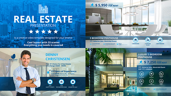Real Estate Agency - Professional After Effects Template