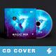 Trance Magic Mix - CD Cover Template