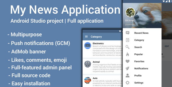 Download My News nulled download