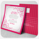 Square Invitation Postcard Templates