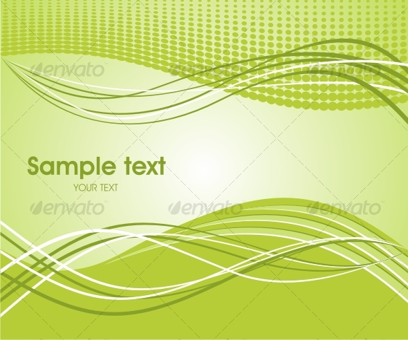 Abstract wave background - Backgrounds Decorative