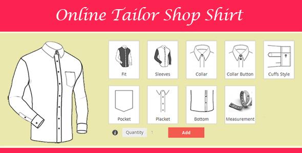 Magento Tailored Shirt Design Online