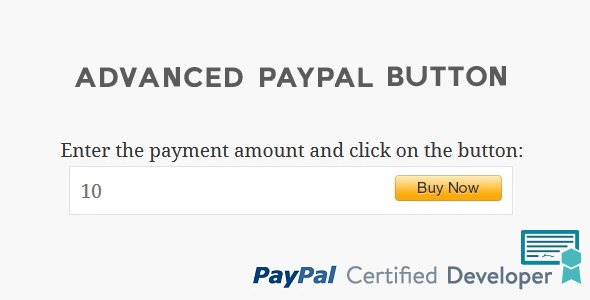 Download Advanced PayPal Button nulled download