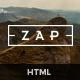 ZAP - Multi-Purpose HTML5 Template