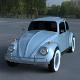 VW Beetle HDRI