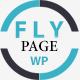 FlyPage - Minimalist Landing Page WordPress Theme