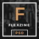 FlexZine -  Magazine PSD Template